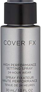 Cover FX High Performance Setting Spray: Weightless, Alcohol-free Setting Spray that Locks in Makeup for up to 24 Hours While Protecting Skin Against Pollution