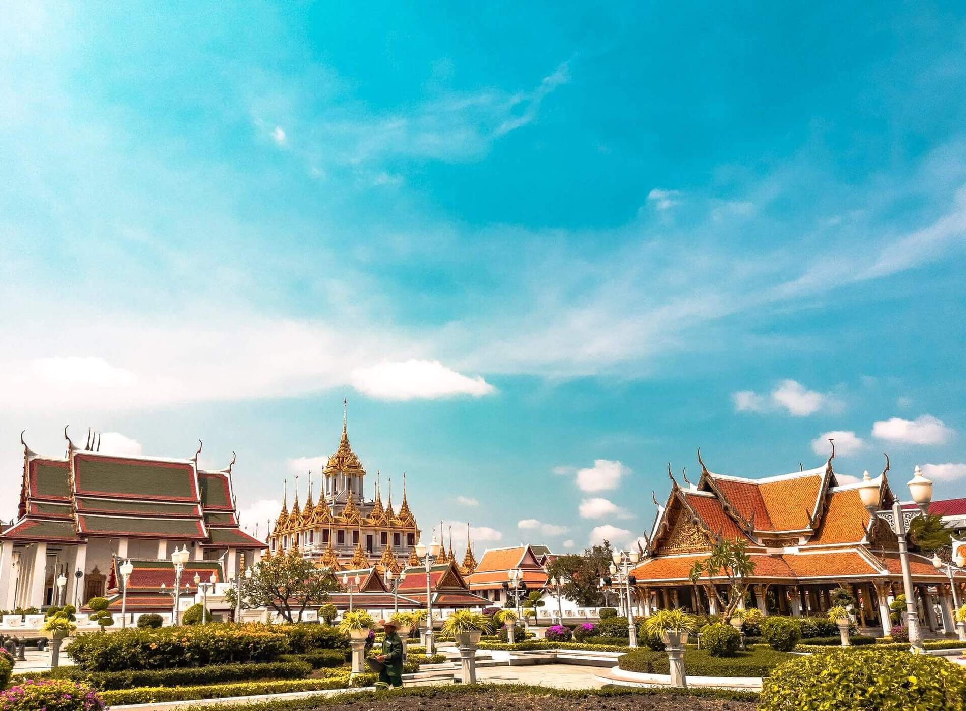 Bangkok, the popular and capital city, tourist places thailand